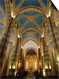 Interior of St. Lorenzo Cathedral, Alba, Italy Prints by Martin Moos