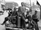 Drenge fra Southside, Chicago, 1941 Plakater af Russell Lee