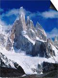 Cerro Torre (3102M) from Laguna Torre Art by Richard l'Anson