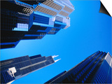 Sears Tower and Other Buildings, Chicago, USA Prints by Richard I'Anson