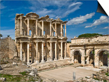 Library of Celsus at Ephesus Poster by Izzet Keribar