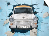 Berlin Wall Mural, East Side Gallery, Berlin, Germany Poster by Martin Moos