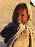 Portrait of Young Boy from Ba Bai Village, Rajasthan, India Posters by Richard I'Anson