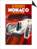 Monaco Grand Prix, 1930 Posters by Robert Falcucci