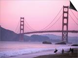 Golden Gate Bridge, San Francisco, California Posters by Mark Newman