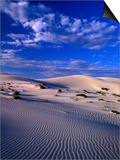 Sand Dunes Carved by Wind, Eucla National Park, Australia Prints by John Banagan