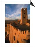 Citadel Tower in 2000 Year Old Arg-E Bam (Bam Citadel), Bam, Kerman, Iran Posters by Mark Daffey