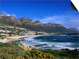Beach at Camps Bay, Cape Town, South Africa Prints by Ariadne Van Zandbergen
