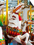 Carousel Horses at Yerba Buena Center for the Arts Posters by Sabrina Dalbesio