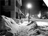Snowy Night, Woodstock, Vermont, 1940 Posters by Marion Post Wolcott