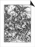 The Four Horsemen of the Apocalypse Prints by Albrecht Dürer