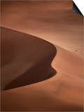 Sand Dunes, Sossusvlei, Namibia Prints by David Wall