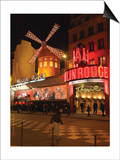 2010 Place Blanche Moulin Rouge Posters