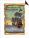 Pirate Ship Posters by  Lantern Press