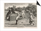 Friendly Game of Mixed Doubles Prints by Everard Hopkins