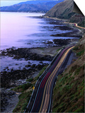Paekakariki Road along the Kapiti Coast, Wellington, New Zealand Prints by Paul Kennedy