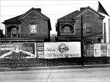 Houses, Atlanta, Georgia, 1936 Posters af Walker Evans