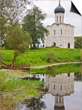 Church of the Intercession of the Nerl, at Bogolyubovo Prints by Tim Makins