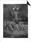Horned Devil Presides Over the Sabbat Posters by Emile Bayard