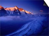 Grossglockner Rising Above Pasterze Glacier, Hohe Tauren National Park, Salzburg Province, Austria Prints by Gareth McCormack