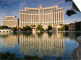 Bellagio Hotel Print by John Elk III
