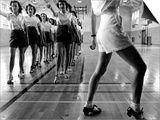 Tap Dancing Class at Iowa State College, 1942 Plakater af Jack Delano