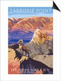 Zabriskie Point - Death Valley National Park Posters by  Lantern Press