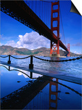 Golden Gate Bridge, San Francisco, California, USA Posters by Roberto Gerometta