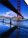 Golden Gate Bridge, San Francisco, California, USA Posters by Roberto Gerometta