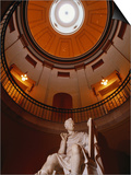 Interior Rotunda of State Capitol Building, Raleigh, North Carolina Prints by John Elk III