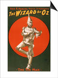 The Tin Man from The Wizard of Oz Posters