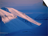 Valley of Reindalen., Spitsbergen Island, Svalbard Prints by Christian Aslund