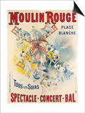 1902- Réouverture Moulin Rouge Posters by Jose Belon