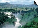 Blue Nile Falls, Near Bahar Dar, Bahar Dar, Ethiopia Poster by Bethune Carmichael