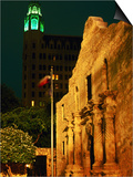 The Alamo, San Antonio, Texas Prints by Holger Leue