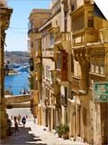 Street in Valletta Prints by Jean-pierre Lescourret