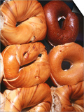Bagels, New York City, New York Prints by Michael Gebicki