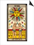 Tarot: 19 Le Soleil, The Sun Prints