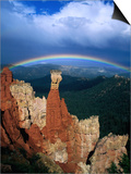Rainbow Over Bryce Canyon, Bryce Canyon National Park, USA Poster by Kevin Levesque