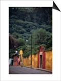 Antigua Streets, Antigua City,Sacatepequez, Guatemala Posters by Alfredo Maiquez