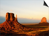 Monument Valley in Late Afternoon Prints by Douglas Steakley
