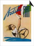 Fiat Ardita Advertisement 1932 Prints