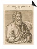 Hippocrates Greek Medical Posters by Andre Thevet