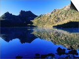 Cradle Mountain and Lake Dove, Cradle Mountain-Lake St. Clair National Park, Tasmania, Australia Prints by Grant Dixon