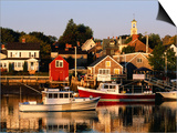 South End, Harbor and Houses, Portsmouth, New Hampshire Prints by John Elk III