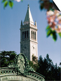 University of California, the Campanile, Alamada County, Berkeley, California Prints by John Elk III