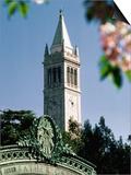 University of California, the Campanile, Alamada County, Berkeley, California Posters by John Elk III