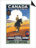 Canadian National Railways Poster Prints