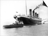 The Titanic Leaving Belfast Ireland for Southampton England for Its Maiden Voyage New York Usa Posters by  Harland & Wolff