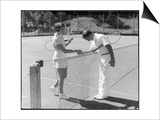 Tennis Chivalry 1930s Posters